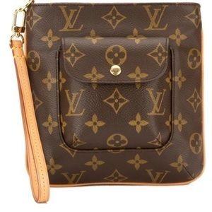 Louis Vuitton Partition Clutch